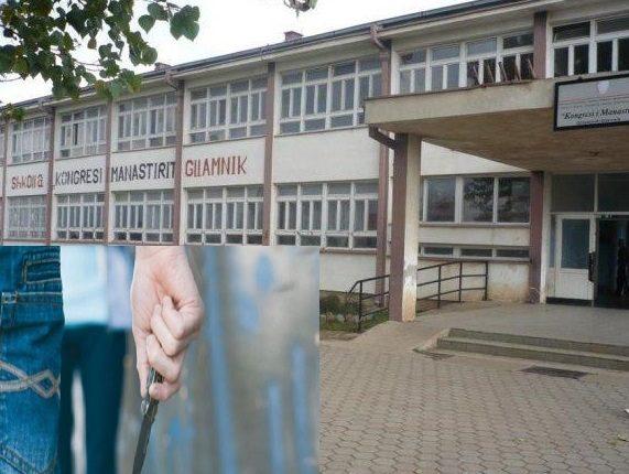 Nxënësi sulmon tjetrin me thikë brenda oborrit të shkollës