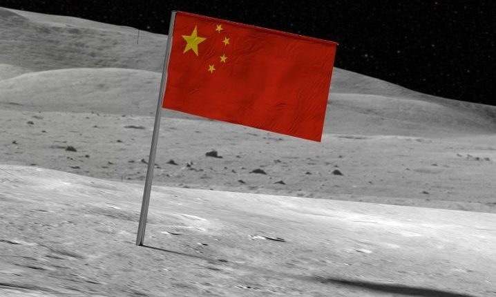 Vendoset flamuri kinez në Hënë