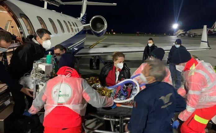 Iu përkeqësua gjendja: Kush ishte vogëlushi që sot nga Klinikat e Shkupit me aeroplan u dërgua në Itali? (FOTO)