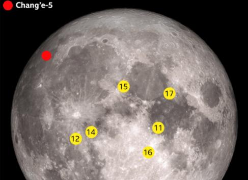 Sonda kineze zbret në Hënë për të mbledhur mostra