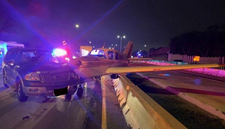 Avioni bën ulje emergjente në autostradë (FOTO)