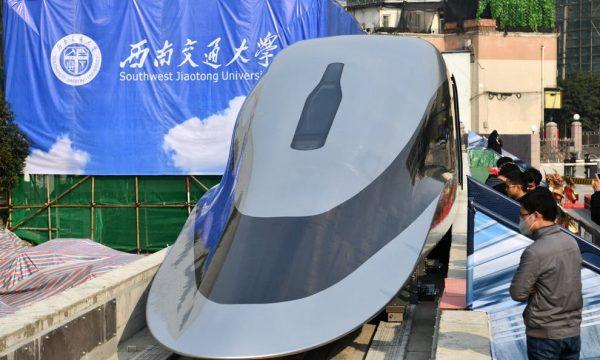 Kina prezanton trenin e shpejtë që lëviz deri në 643 kilometra në orë
