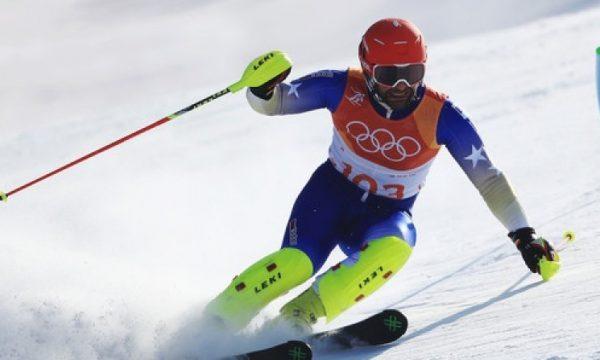 Albin Tahiri kalon me sukses sfidën e parë për normë Olimpike në disiplinën e sllallomit të madh