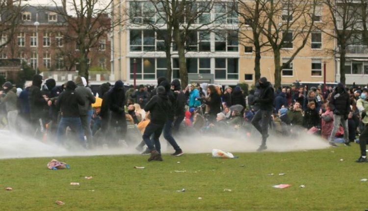 Kryeministri holandez i cilëson protestat si dhunë kriminale
