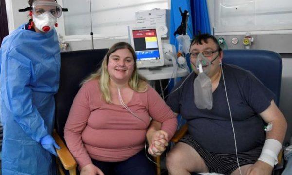 Në prag të vdekjes çifti kurorëzojnë dashurinë në spital