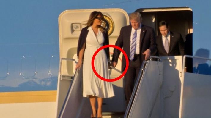 Të gjitha skenat e planifikuara? Donald Trump dhe Melania as që e mendojnë divorcin