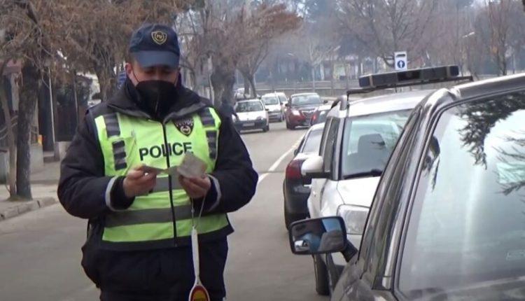 Shkup, MPB-ja regjistron 155 shkelje të rregullave në trafik