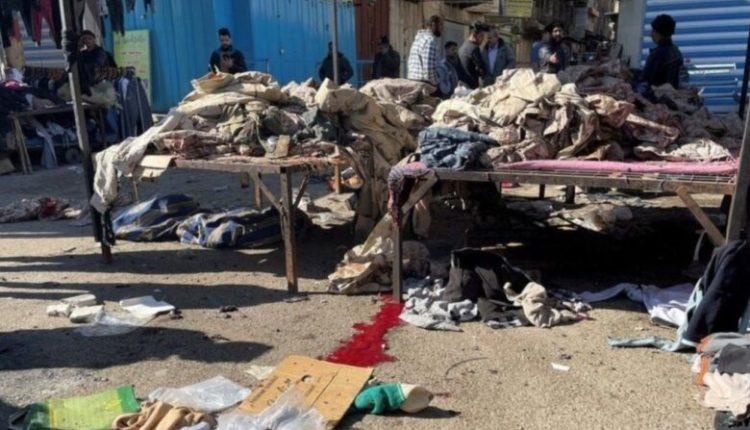 Dy sulme kamikazë tronditin Bagdatin, dhjetëra të vdekur