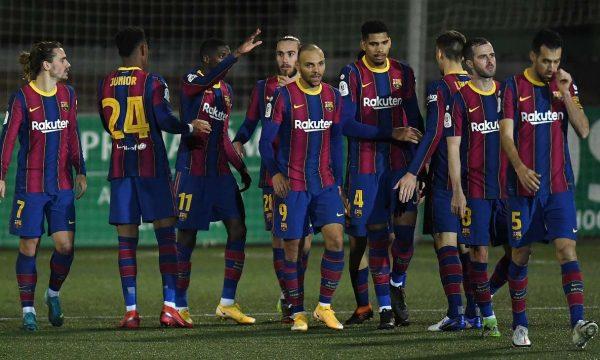 Cornella nuk i reziston Barcelonës-Blaugrana vazhdon në Kupën e Mbretit