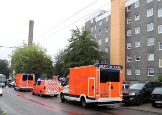 Sulm me thikë në Frankfurt, disa të plagosur