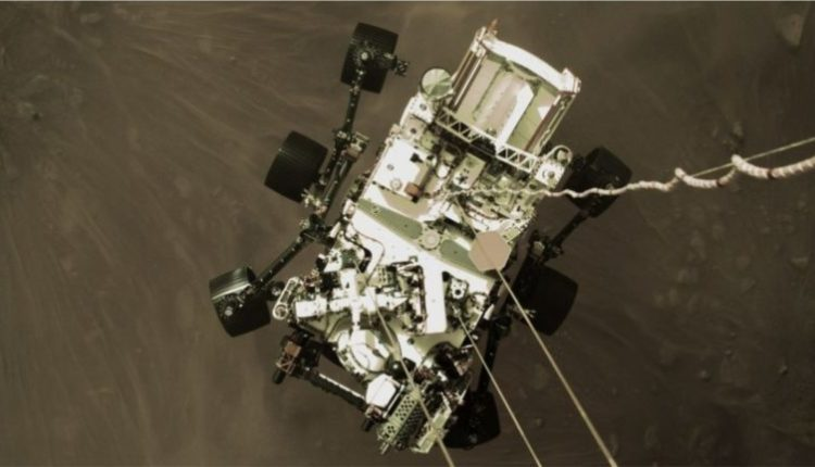 """NASA publikon pamje të reja nga ulja e """"Perseverance"""""""