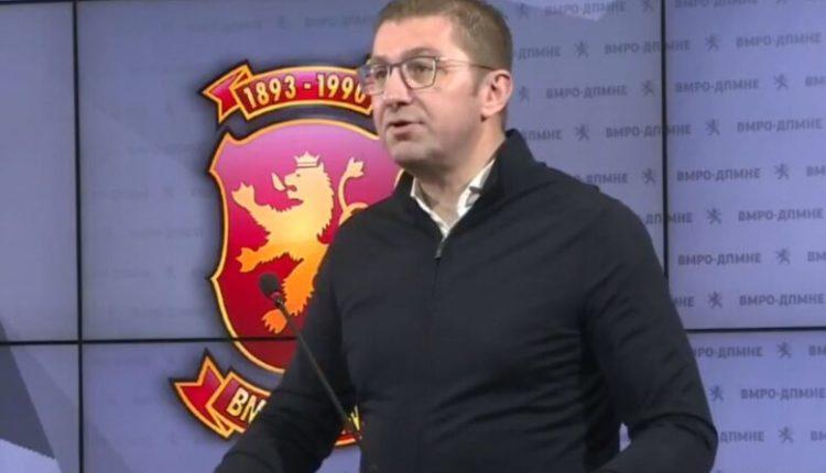 Mickoski paralajmëron mocion votëbesimi ndaj qeverisë