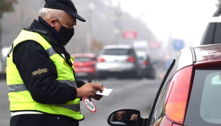 Në Shkup sanksionohen 269 shoferë