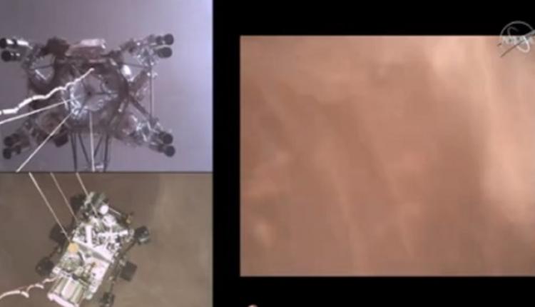 Si kurrë më parë, NASA publikoi pamjet e uljes së anijes kozmike në Mars (VIDEO)