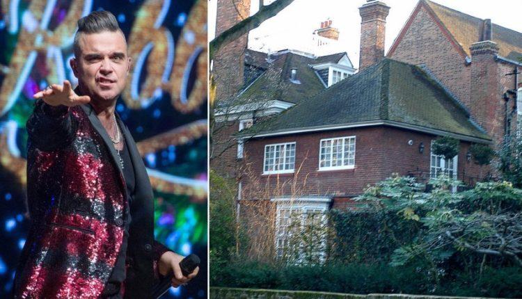 Robbie Williams nxjerr në treg shtëpinë e 'përndjekur nga fantazmat' dhe zhvendoset Zvicër