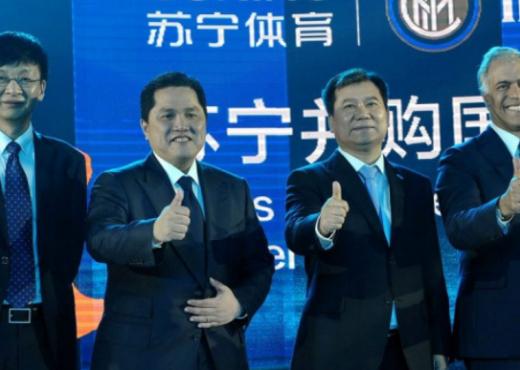 Thashethemet për shitjen e Interit, komunikata e Suning Group sqaron gjithçka