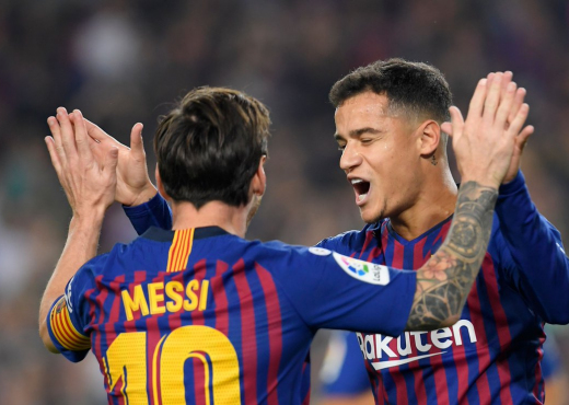 """Coutinho në """"vend numëro"""", rrezikon El Clasicon"""