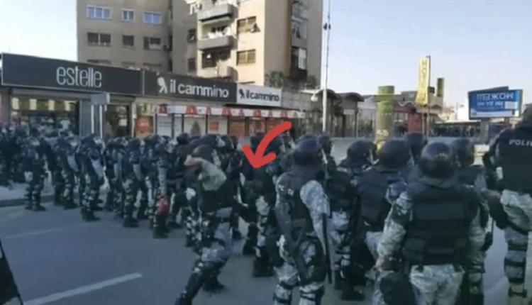 Protestat e sotshme në Shkup, polici gjuan me gurë protestuesit