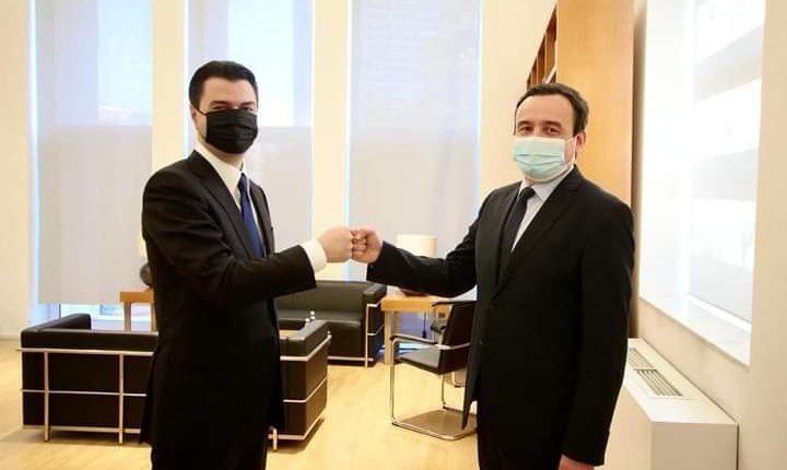 Basha pret Albin Kurtin: Me mua kryeministër, forcohen marrëdhëniet Kosovë-Shqipëri