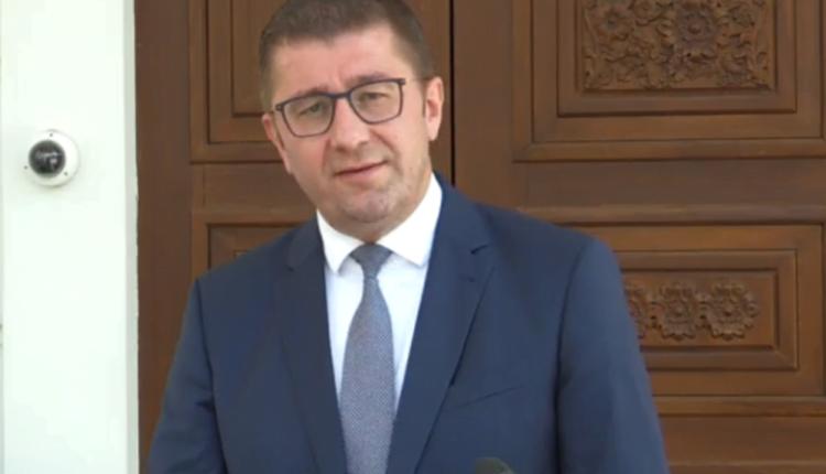 Mickoski: Zaev në bisedime të fsheha për tradhti të re nacionale