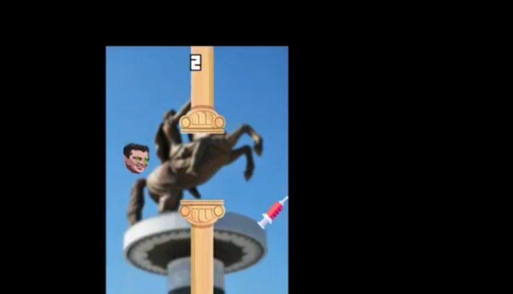 """Zoki Vaksajn"" – lojë me kryeministrin Zaev dhe vaksinën Pfizer"