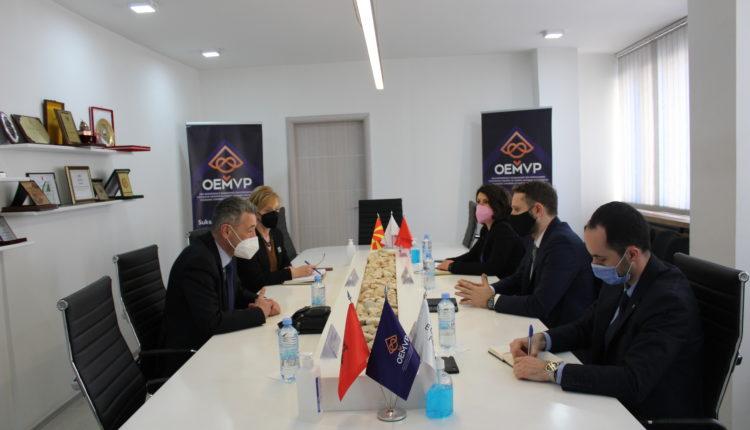 Në hapësirat e OEMVP-së u realizua takimi me Entin Shtetëror për Statistika