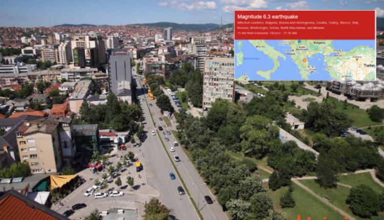 Katër tërmete tjera të njëpasnjëshme godasin sërish Greqinë