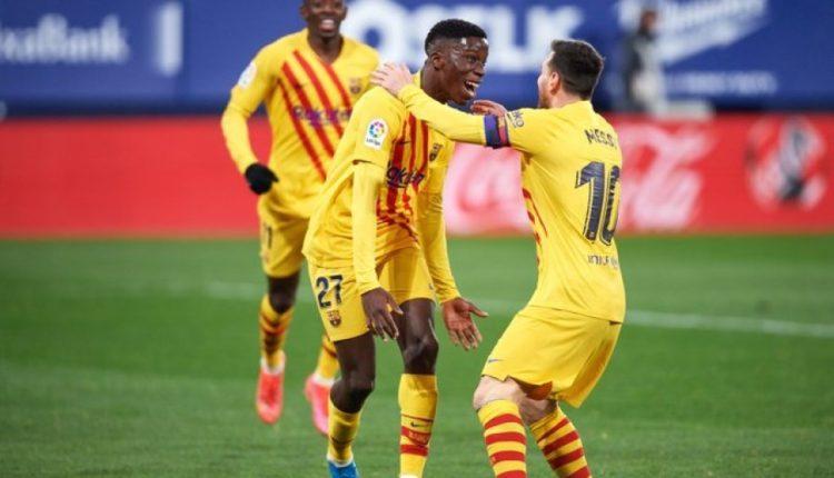 Shënoi golin e parë me Barçën, Moriba: Messi më tha të godisja, nuk do ta harroj kurrë!