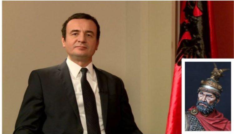 Albin Kurti: Ne duhet të veprojmë duke menduar se si do të vepronte Skënderbeu