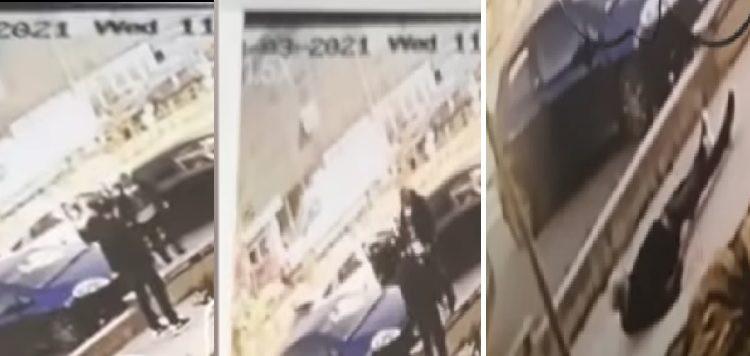 Pamje të rënda/ Del video e ekzekutimit të 31-vjeçarit në mes të qytetit