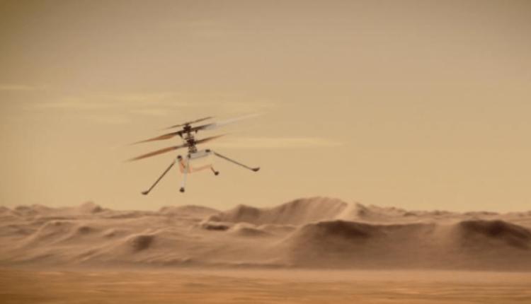 Helikopteri i NASA-s i mbijeton natës së parë të acartë në Mars