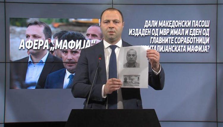 VMRO-DPMNE: MPB dha pasaporta edhe për mafian italiane