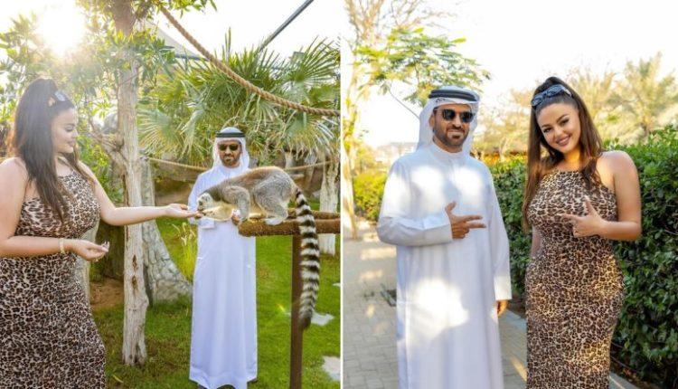 Enca në Dubai takohet me sheikun e famshëm Saif Ahmad Belhasa