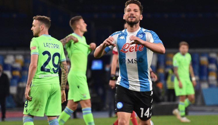 Napoli 'shkatërron' Lazion në derbin italian