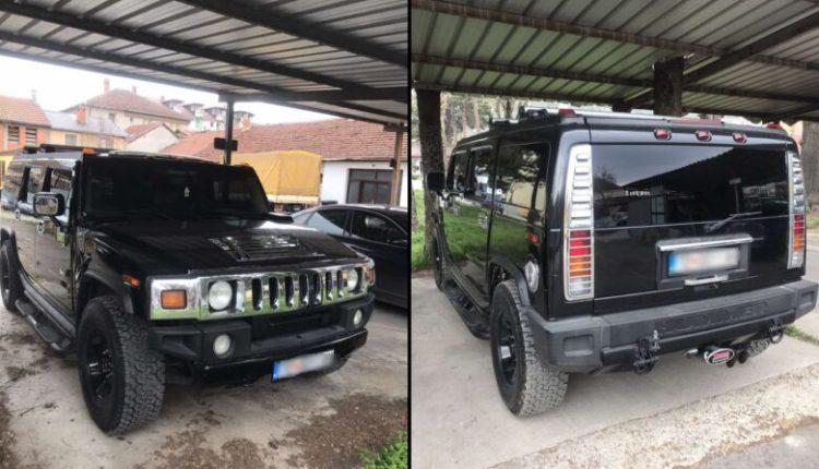 """Arrestohet 31 vjeçari nga Tetova, i konfiskohet vetura """"Hammer"""" (FOTO)"""