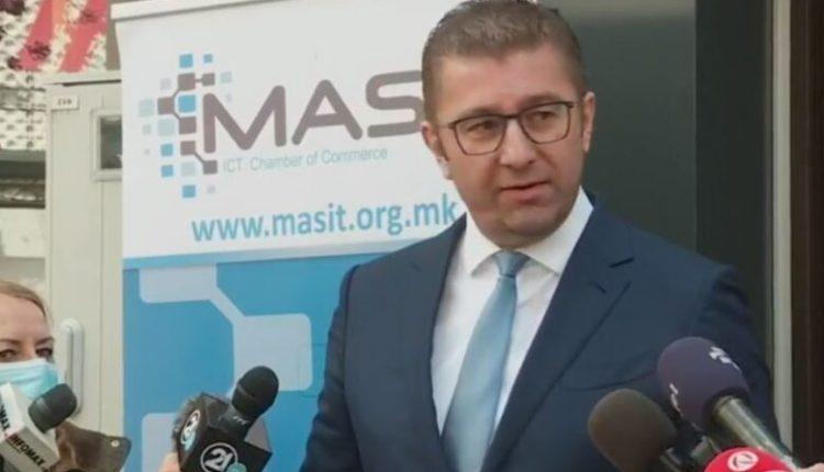 Mickoski thirrje për të votuar LSI-në në Shqipëri