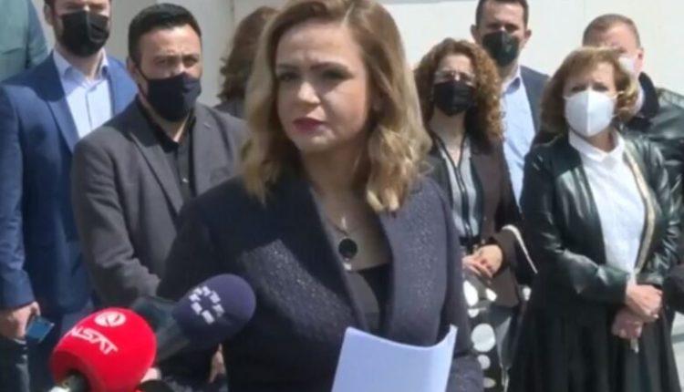 VMRO-ja me padi ndaj Talat Xhaferit dhe deputetëve me skafandër