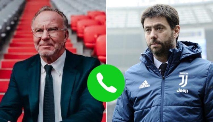 Rummenigge: Kam provuar të flas në telefon me Agnellin, por nuk më lajmërohet