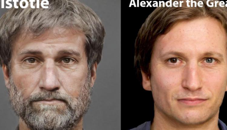 E pabesueshme/ 3D sjell në jetë Aleksandrin e Madh dhe Aristotelin