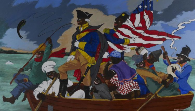 Piktura satirike që ironizon racizmin