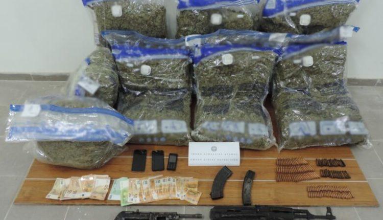 Transportonin drogë dhe armatim prej Maqedonisë në Greqi, arrestohen tre shtetas grek