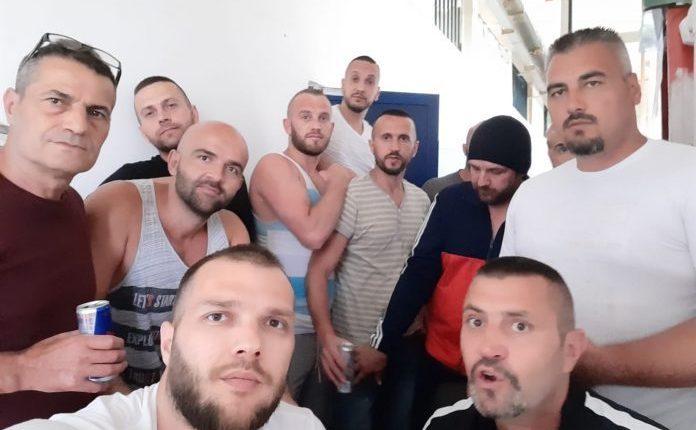Bastisen qelitë e Grupit të Kumanovës në Idrizovë