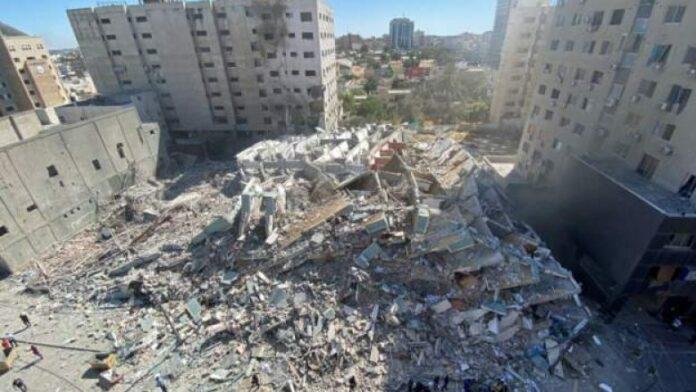 Pas shembjes së ndërtesës të mediave në Gaza, reagojnë edhe SHBA-të