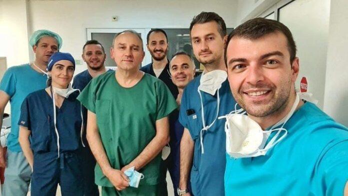 Dr Xhelili nga Tetova merr pjesë në operacionin e transplatimit të zemrës