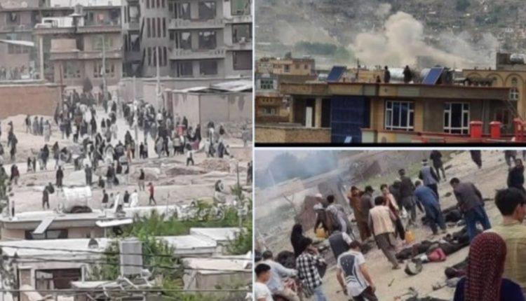 Sulm me bombë pranë një shkolle, rreth 40 të vrarë dhe dhjetëra të plagosur në Kabul (VIDEO)