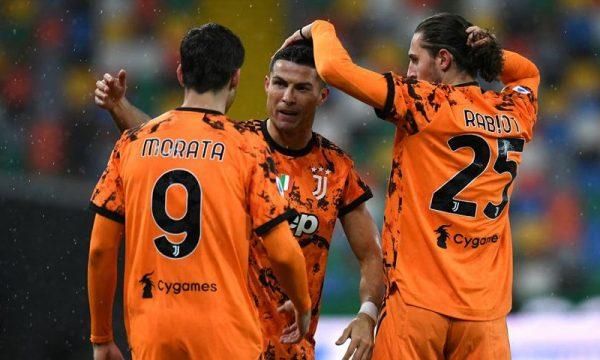 Ronaldo e rikthen Juventusin në zonën Champions me dy gola të vonshme ndaj Udinesës
