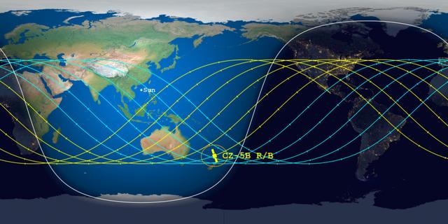 Zvogëlohet zona dhe koha që mund të godasë Tokën, koordinatat e fundit nga raketa kineze