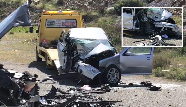 Një i vdekur dhe 2 të plagosur, dalin pamjet nga aksidenti i rëndë në Milot