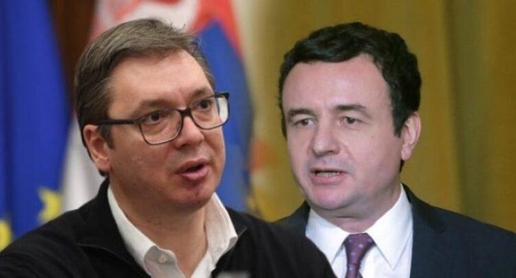 Vuçiq: Nëse Kurti mendon se nuk do të flasë për Asociacionin, s'ka pse të vijë në Bruksel