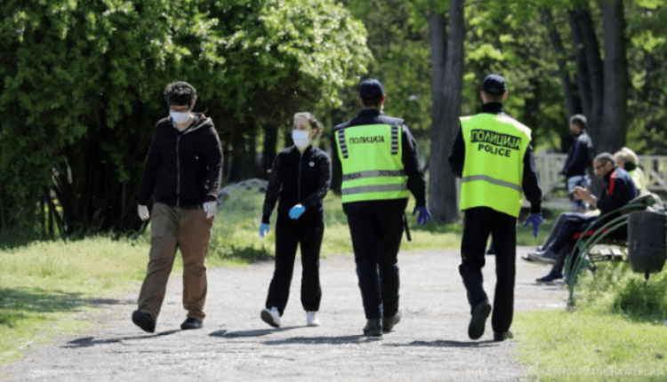 32 shkelje të orës policore dhe 476 gjoba për mosmbajtje të maskave